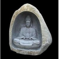 Natural Stone Carved Budha