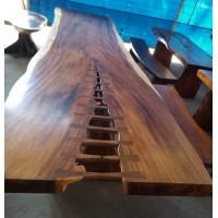 Large Suar Slab Wood Tables (6 Metre)