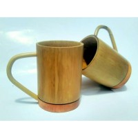 Bamboo Cup (with handle)